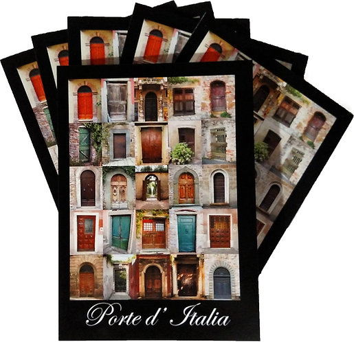 SIX – Porte d'Italia 5″ x 7″ Cards