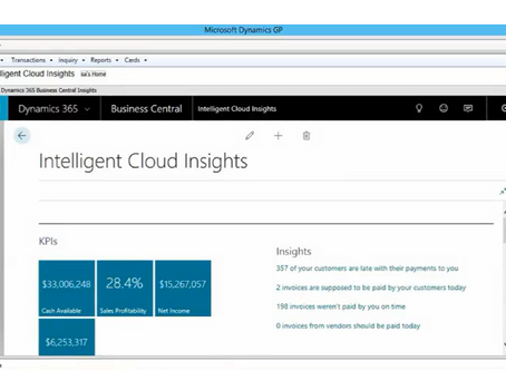 Better Together: Explore the Microsoft Intelligent Edge with Dynamics GP 2018R2 and Business Central