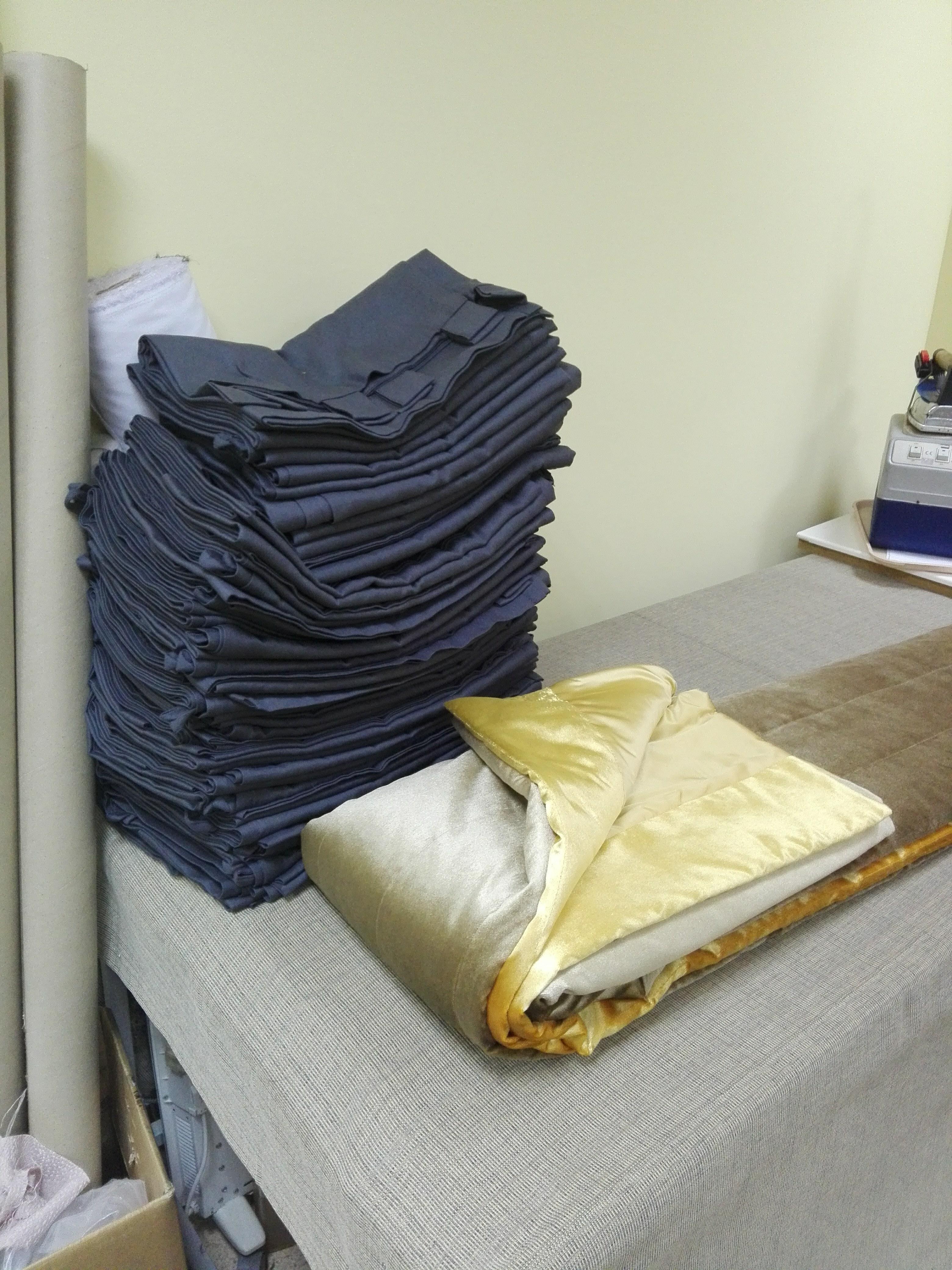 Массовое производство готовых штор
