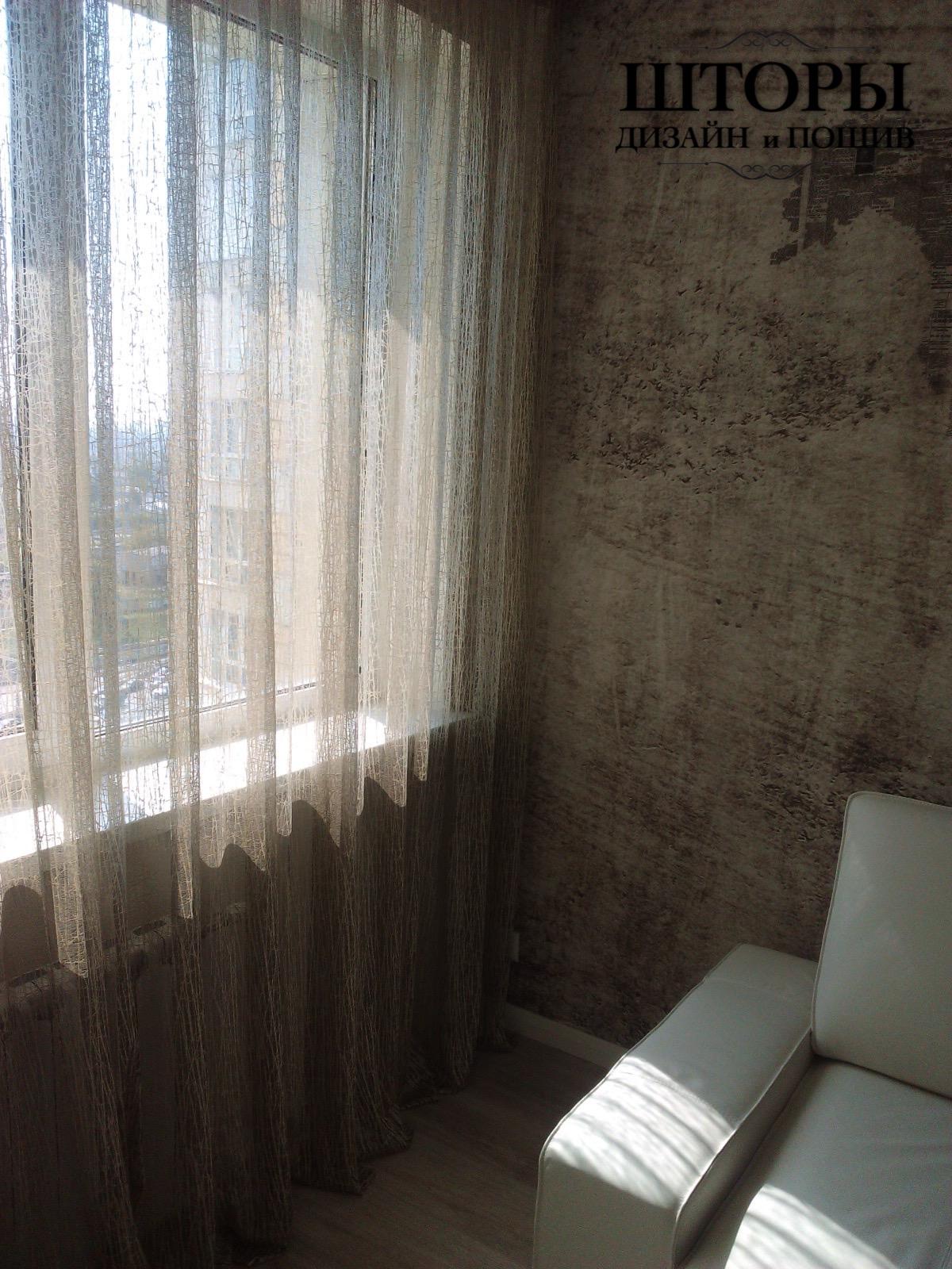 Тюль в гостиной