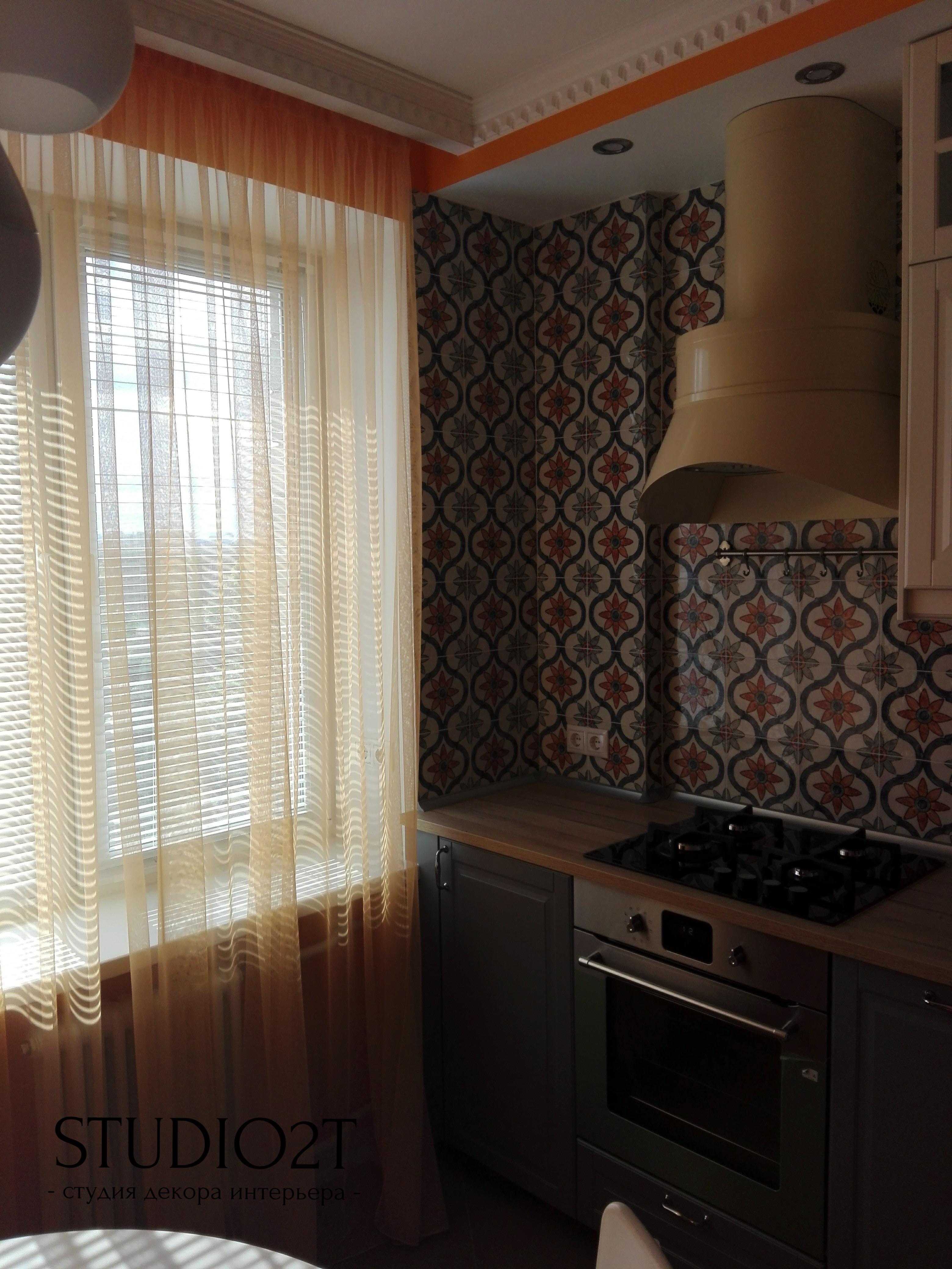 Тюль для кухни
