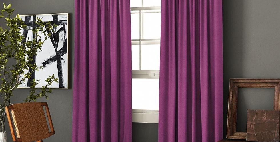 """Комплект штор с подхватами """"Ибица"""" фиолетовый"""