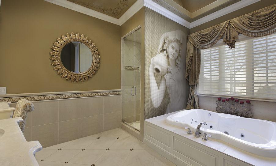 Античная мозаика в ванную