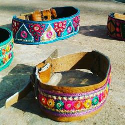 Handmade dog collars