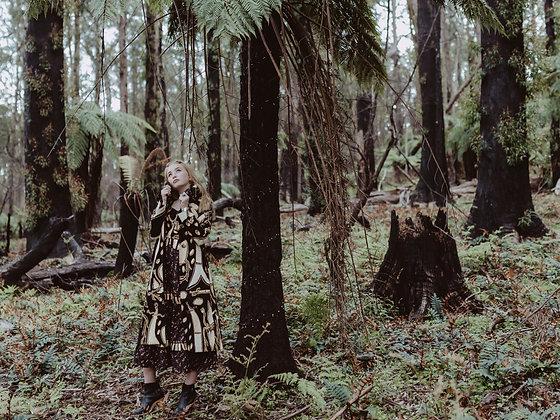 DJOMI Fabric Trench Coat