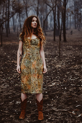 The Jallamara Dress Lichen