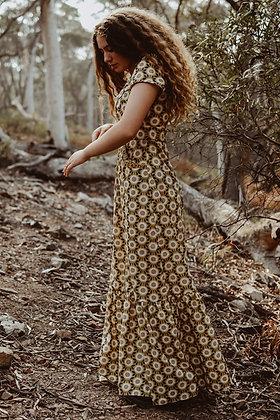 The Gardner Girl Prairie Dress Yellow