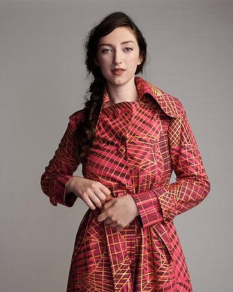 WAK Fabric Trench Coat