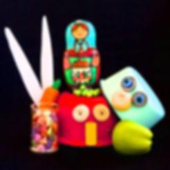 La Compagnie Midi 2, Le Bonnet de Noël, spectacle pour les enfants à partir de 2 ans