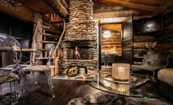 Petit Oliver fireplace