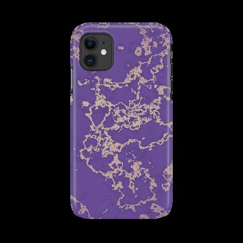 Mobilskal Golden Vein Purple till iPhone 11