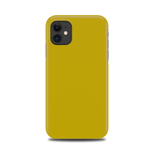 Mobilskal Golden Yellow till iPhone 11
