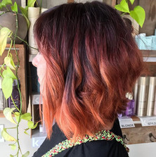 Red tone melt to get ready for fall✨💋🍁