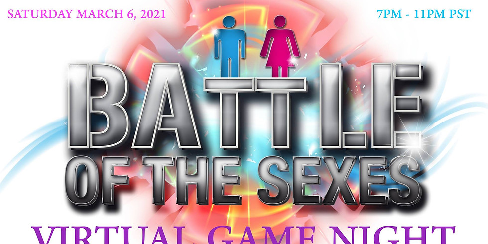 BATTLE OF THE SEXES VIRTUAL GAME NIGHT