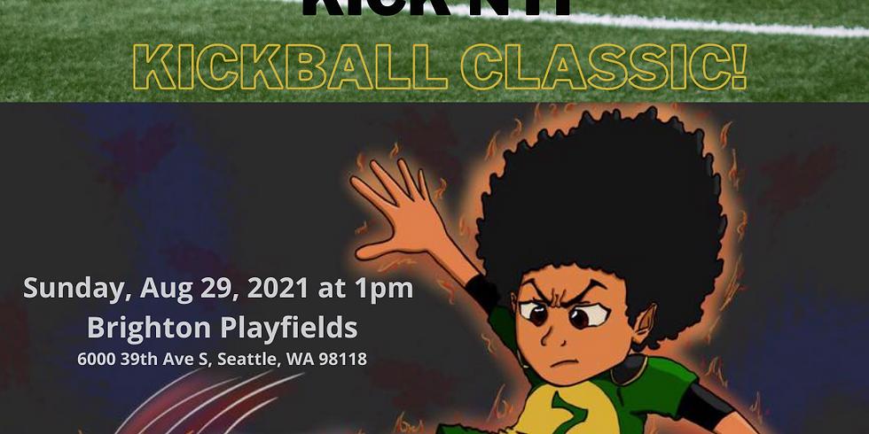 """BUILD back to school friends & family """"Kick'N it"""" Kickball Classic!"""