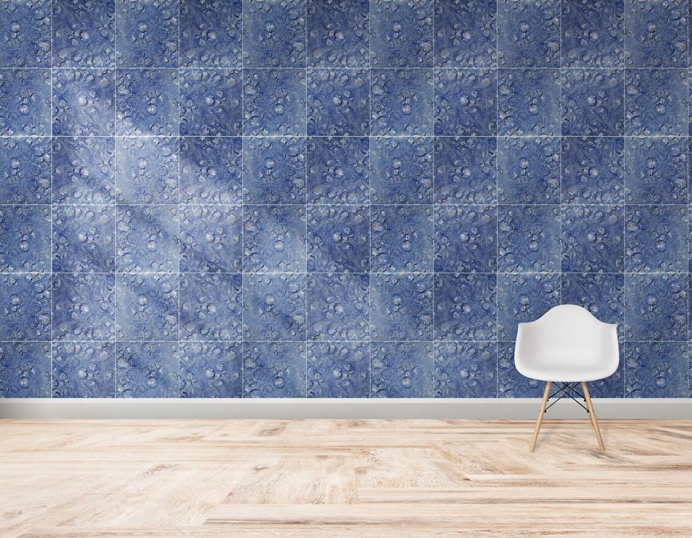 Articoke blue tiles
