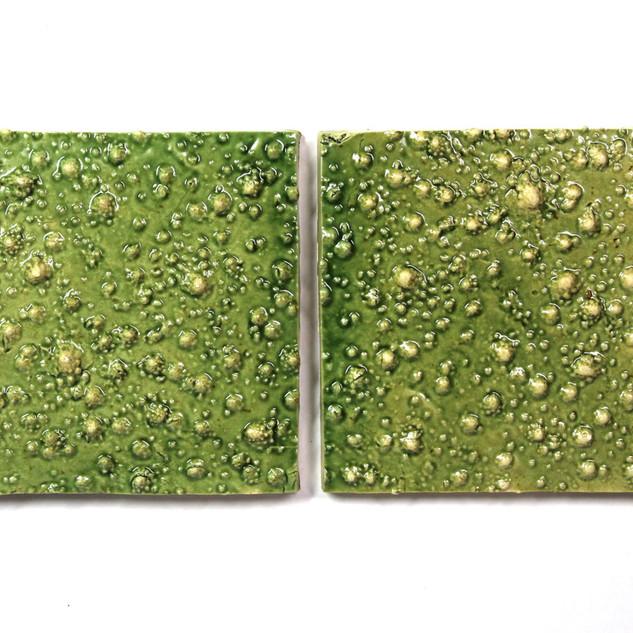 Romanesco Green tiles
