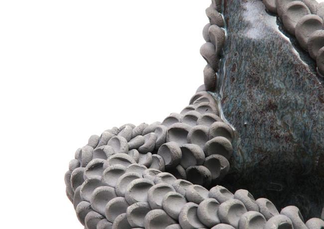 Gray Finger Sculpture