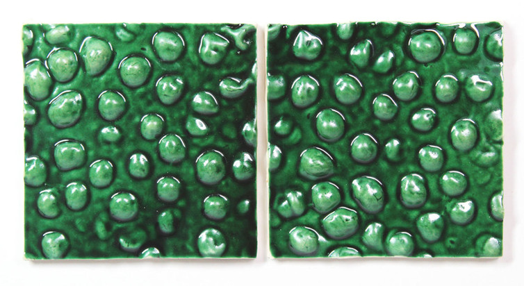 Green grapes tiles