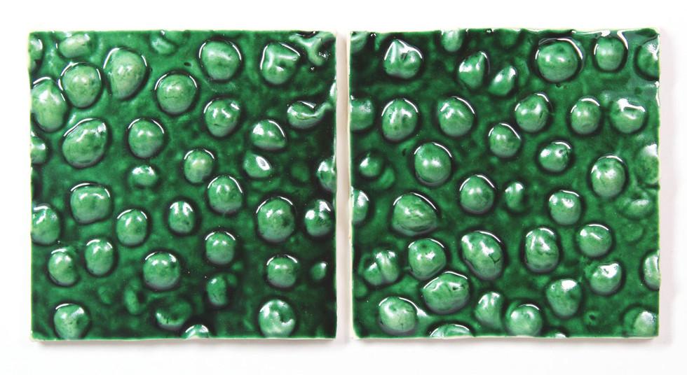 Green grapes tiles