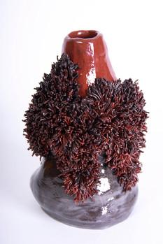 black Jack vase