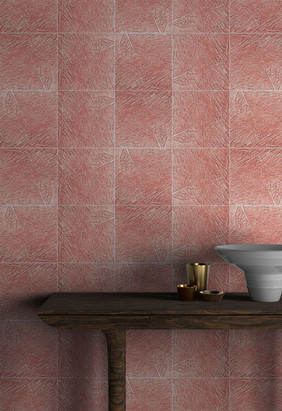 Pink Cabbage Tile