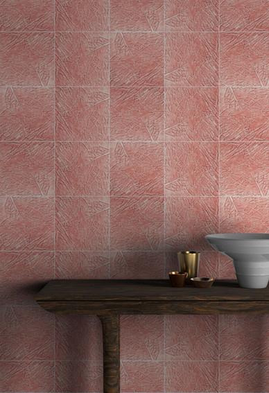 Pink Cabbage Tile