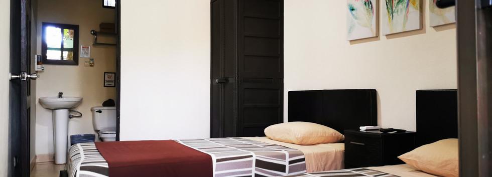 Habitación Mini con dos camas twin