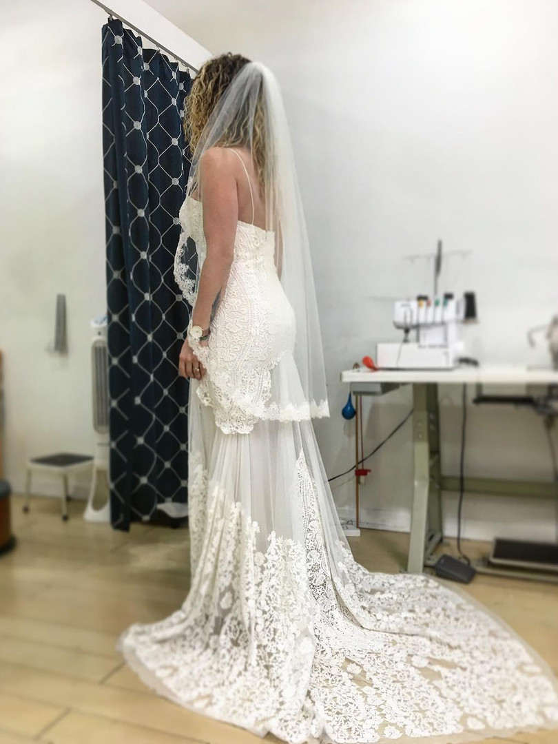 Lady Blue Tailors and Alterations Wedding Dress 12 North Miami Beach