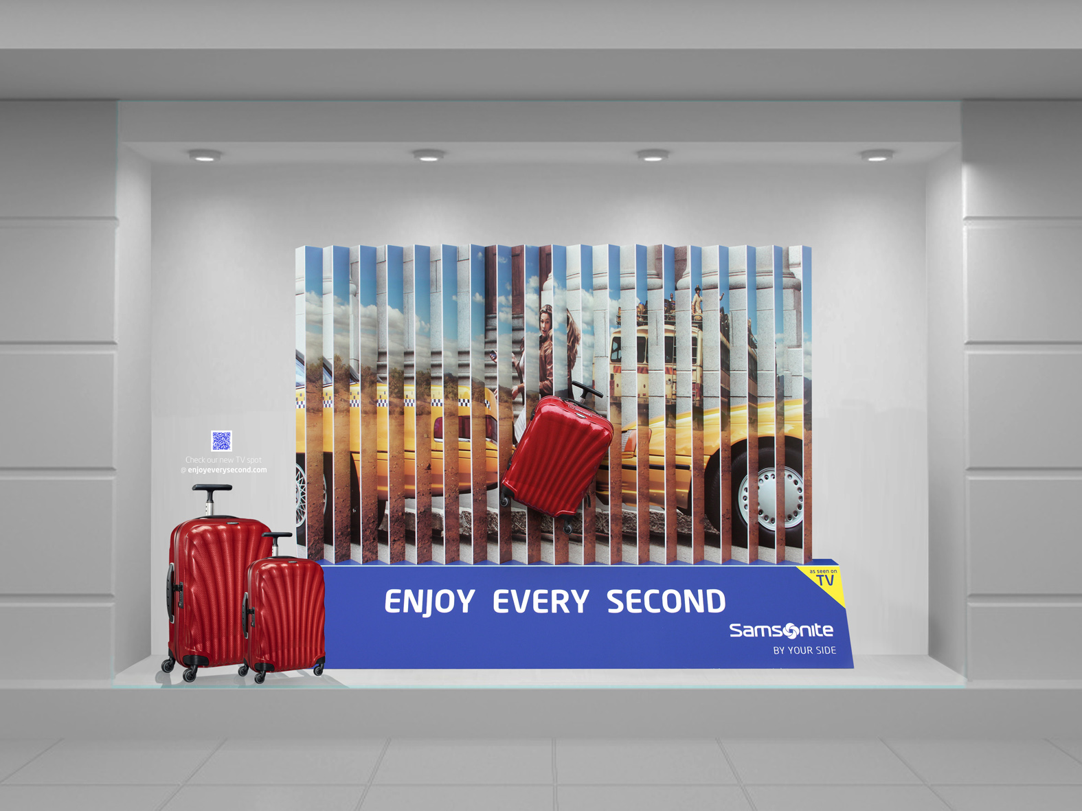 SAMSONITE_window display