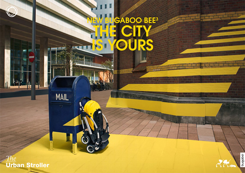 BUGABOO BEE_anamorphic decor
