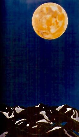 Hommage à la lune