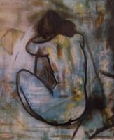 Nu bleu (Etude du nu de Picasso)