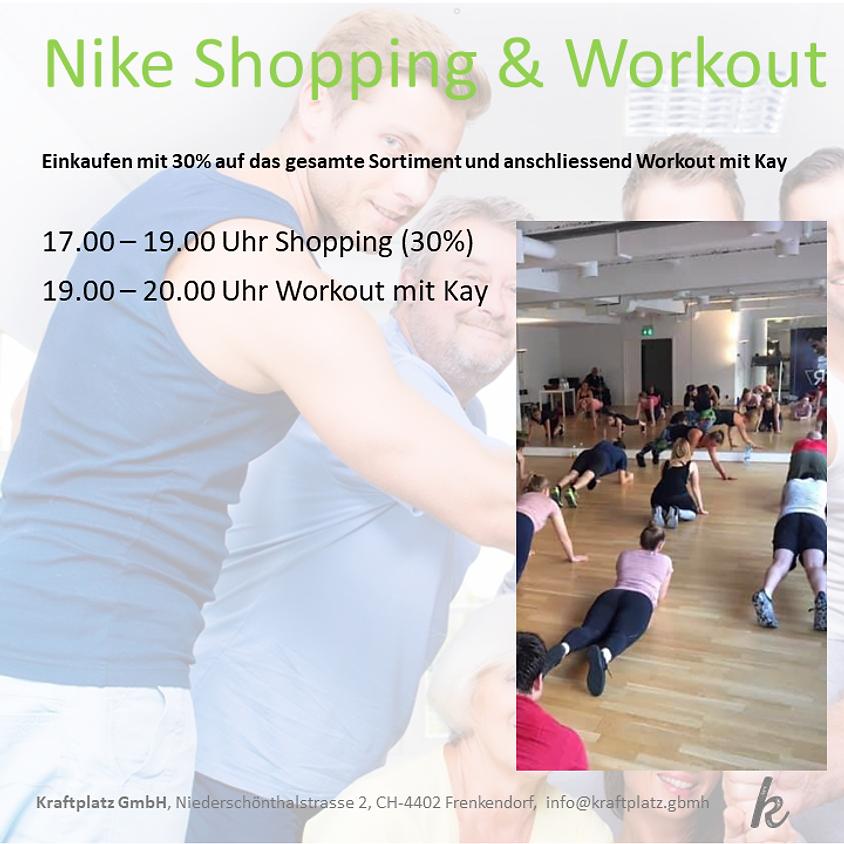 Nike Shopping (30%) & Workout mit Kay
