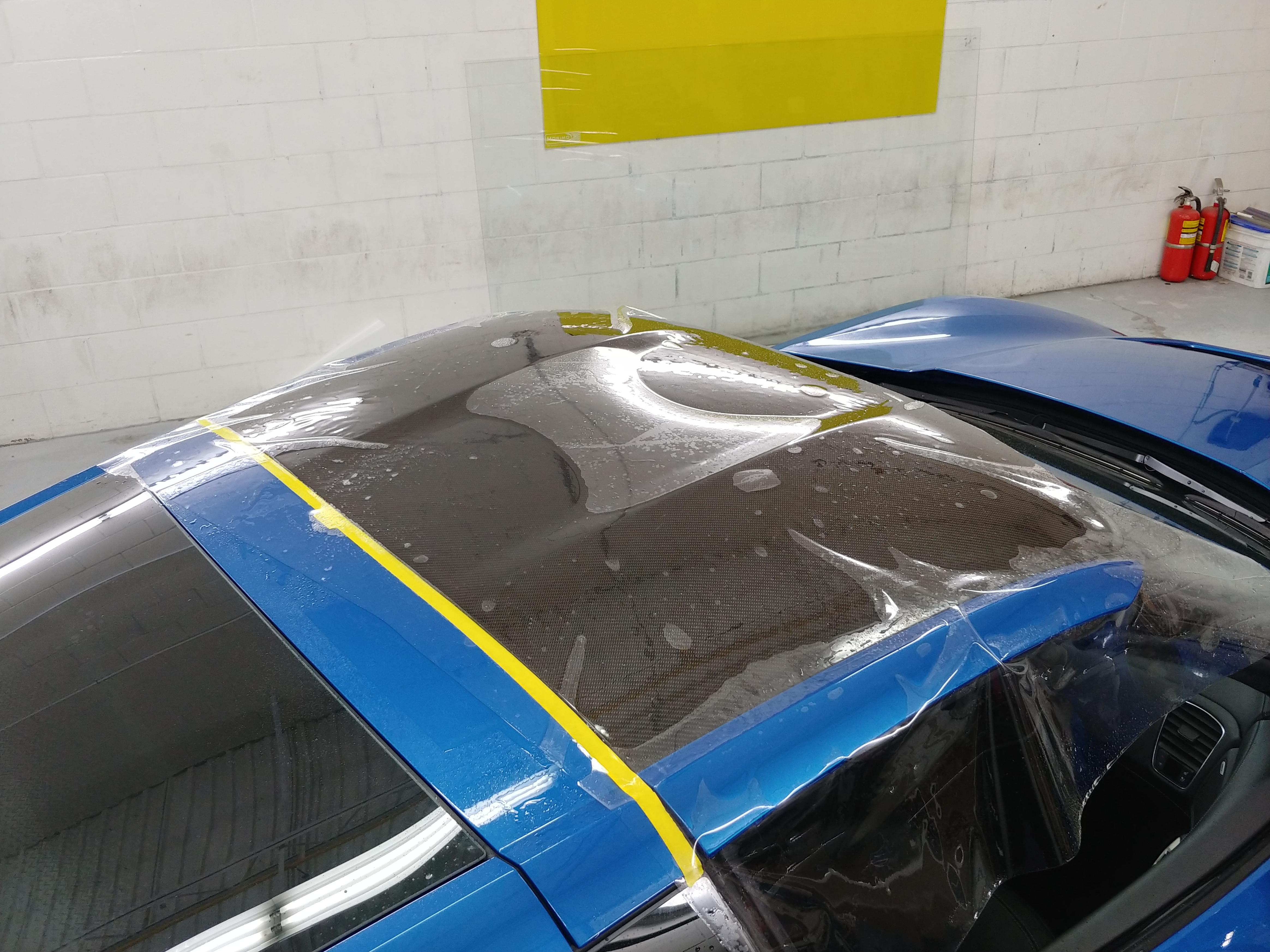 Corvette roof