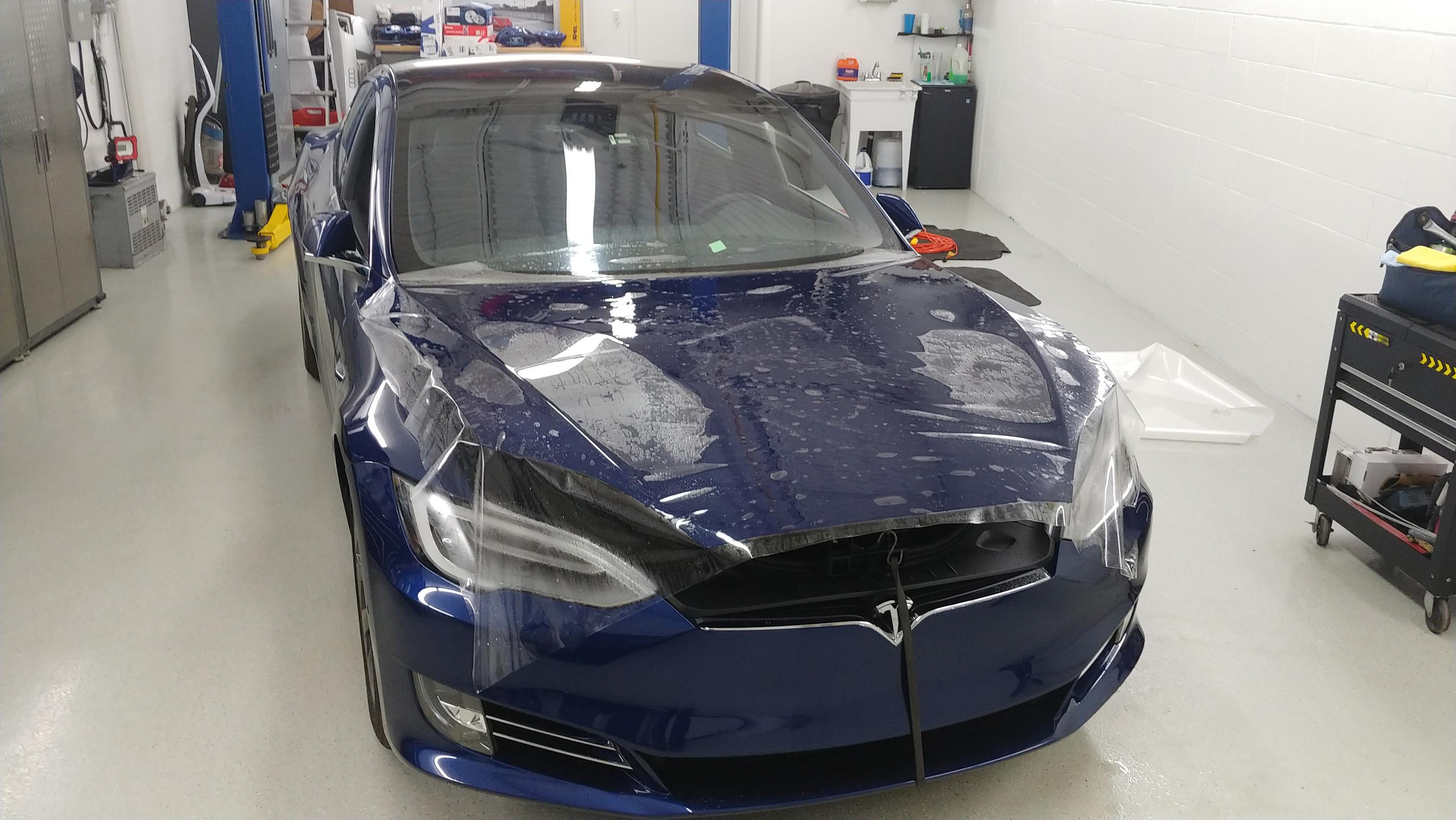 Tesla Model S Full Hood