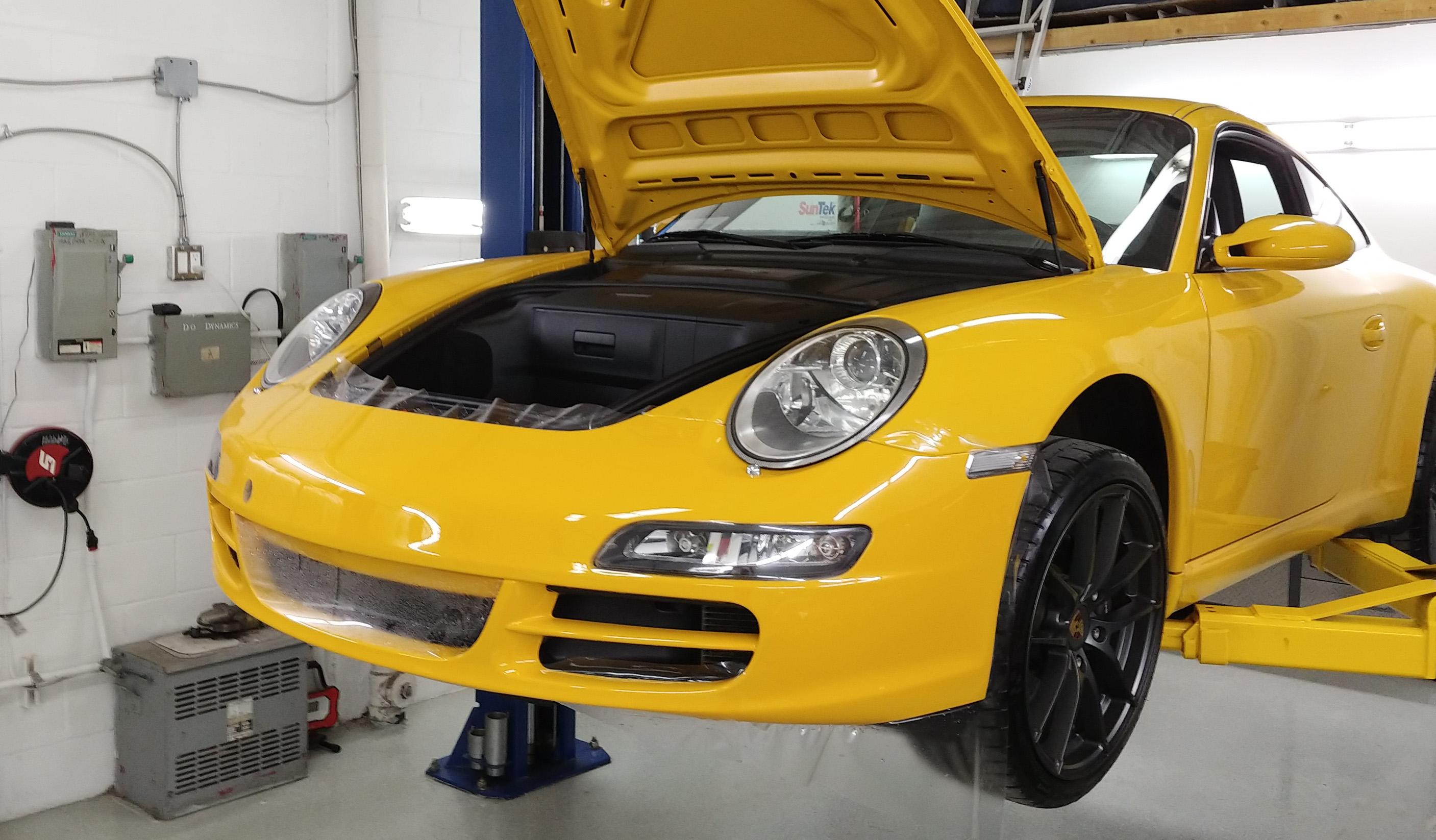 Porsche Full Bumper