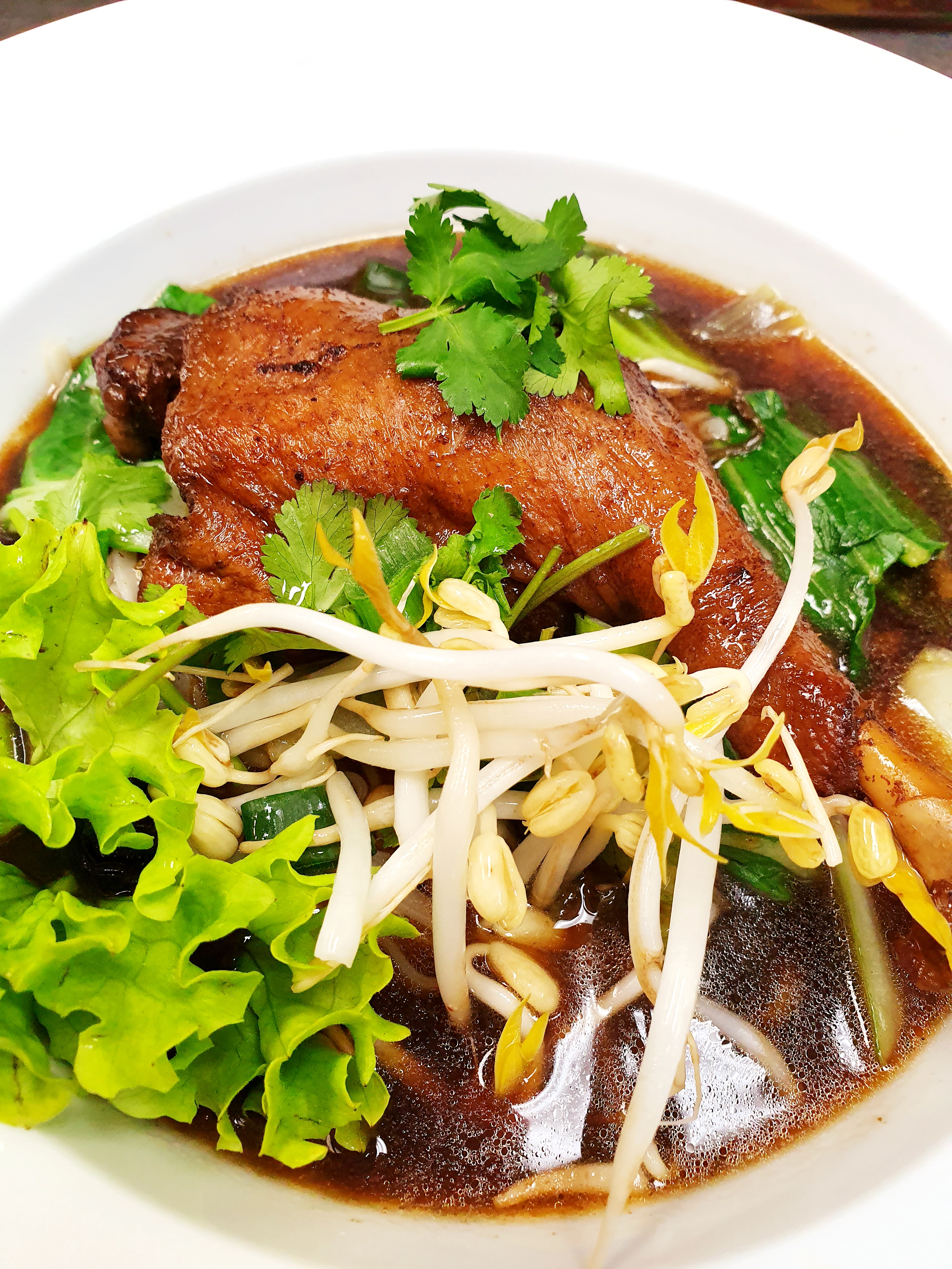 M43 Duck Soup with Noodles