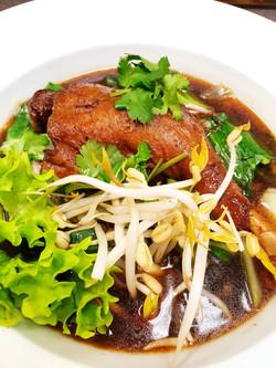 M43 Duck Soup with Noodles