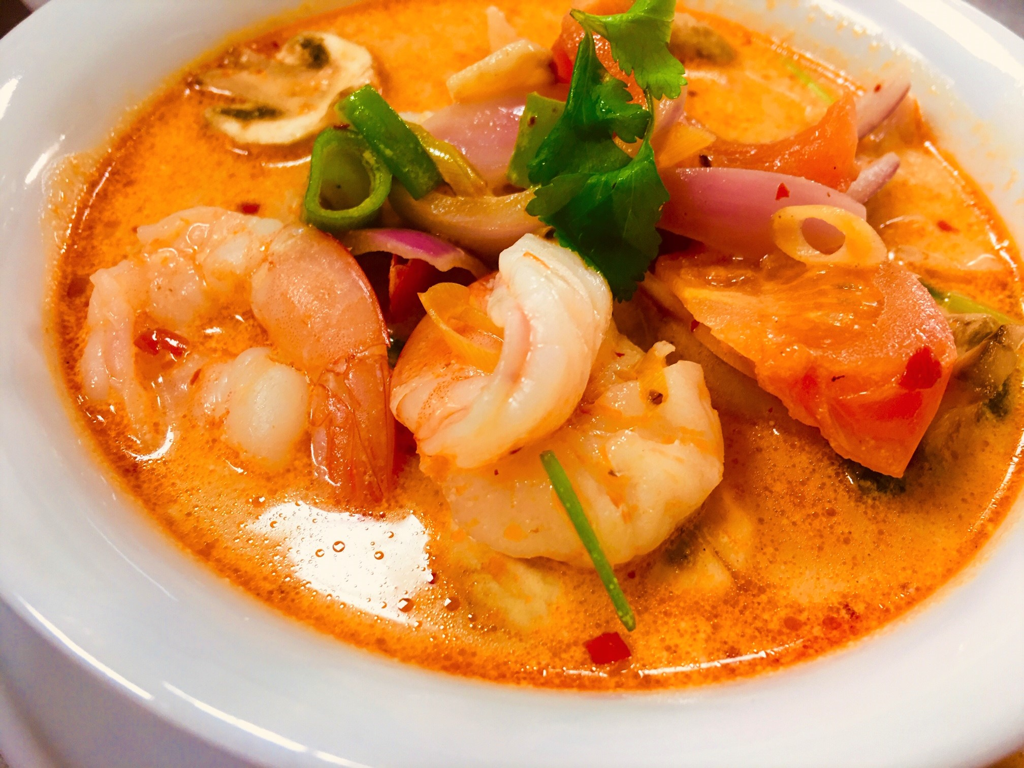 M1 Tom Yum Creamy Soup