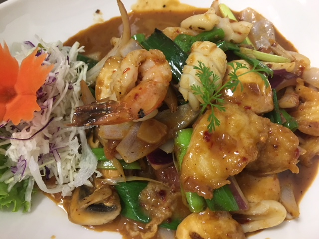 SF7 Tom Yum Talay Stir fried