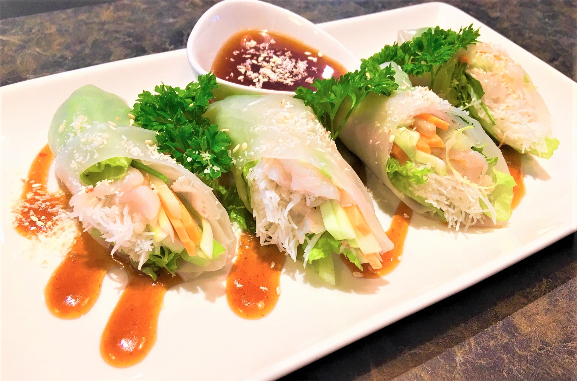 Prawn Fresh Spring Roll