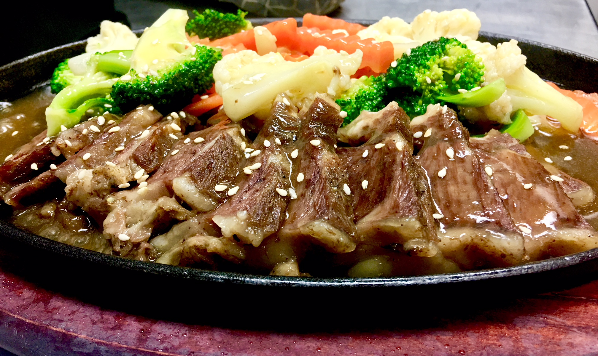 Special Braised Porterhouse Steak