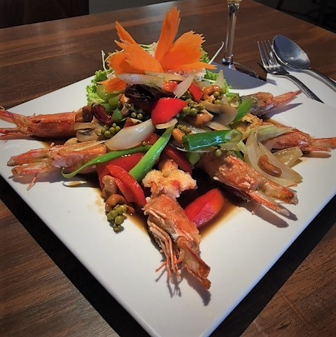 Tiger Prawns with Tamarine sauce