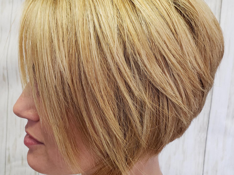 Womans Haircut & style