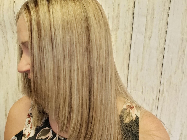 Full hilite & lowlight haircut