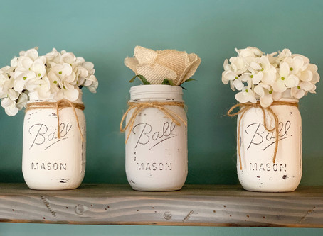 Mason Jar Decor for under $15!