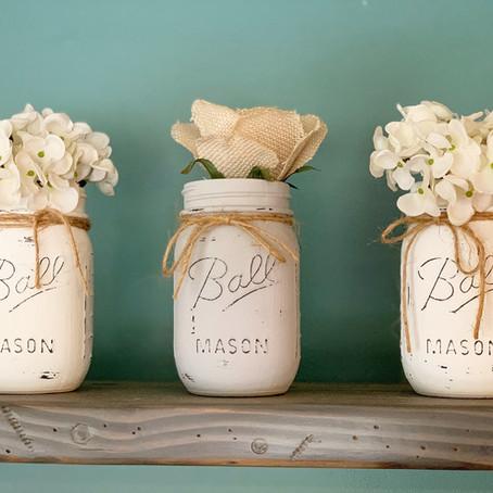 Mason Jar Decor for under $15!