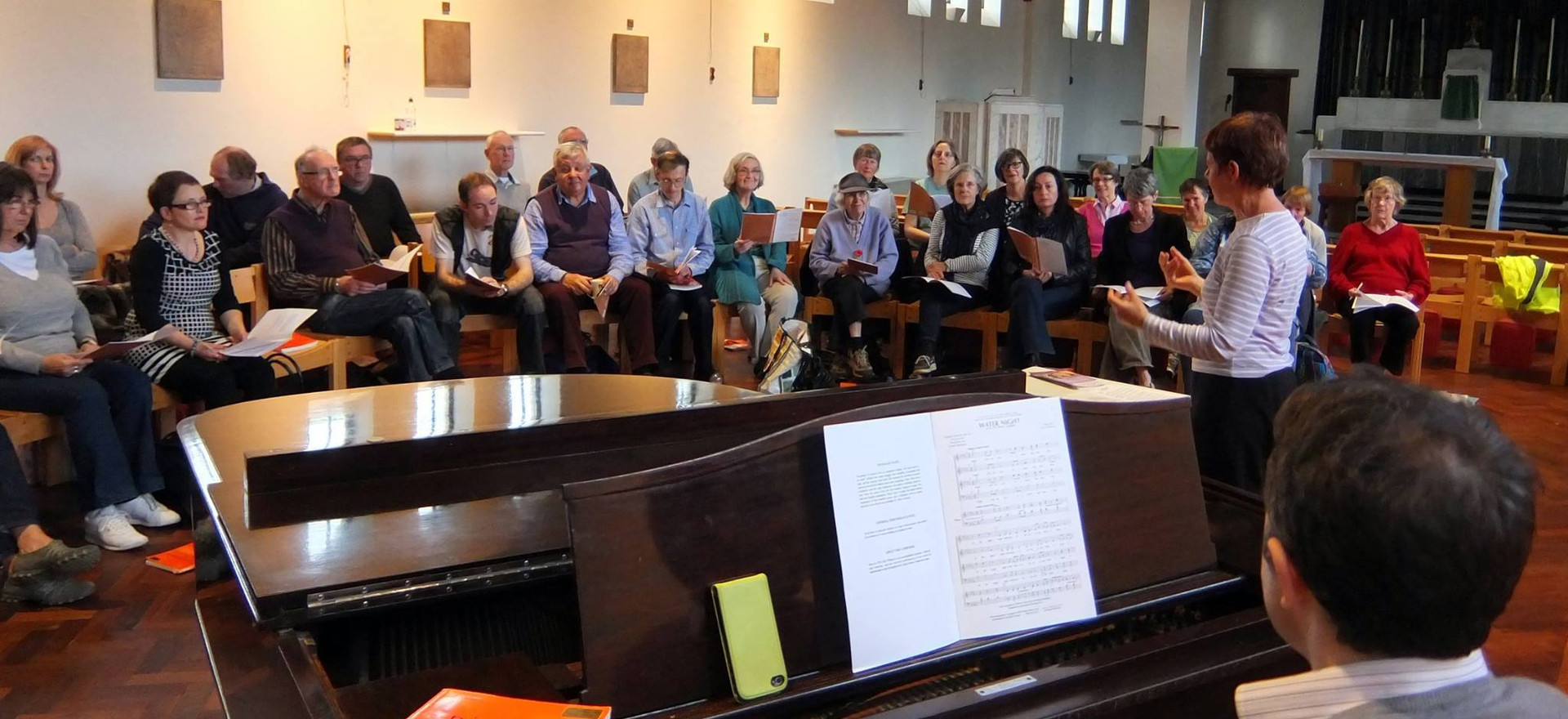 Choral workshop 2014