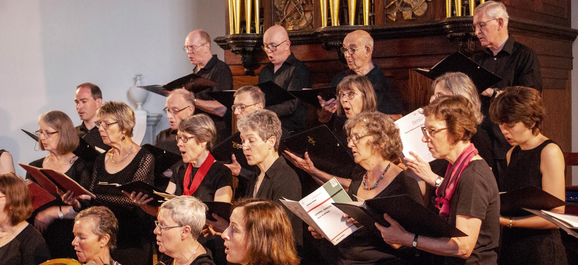 Choir and Harp 2019